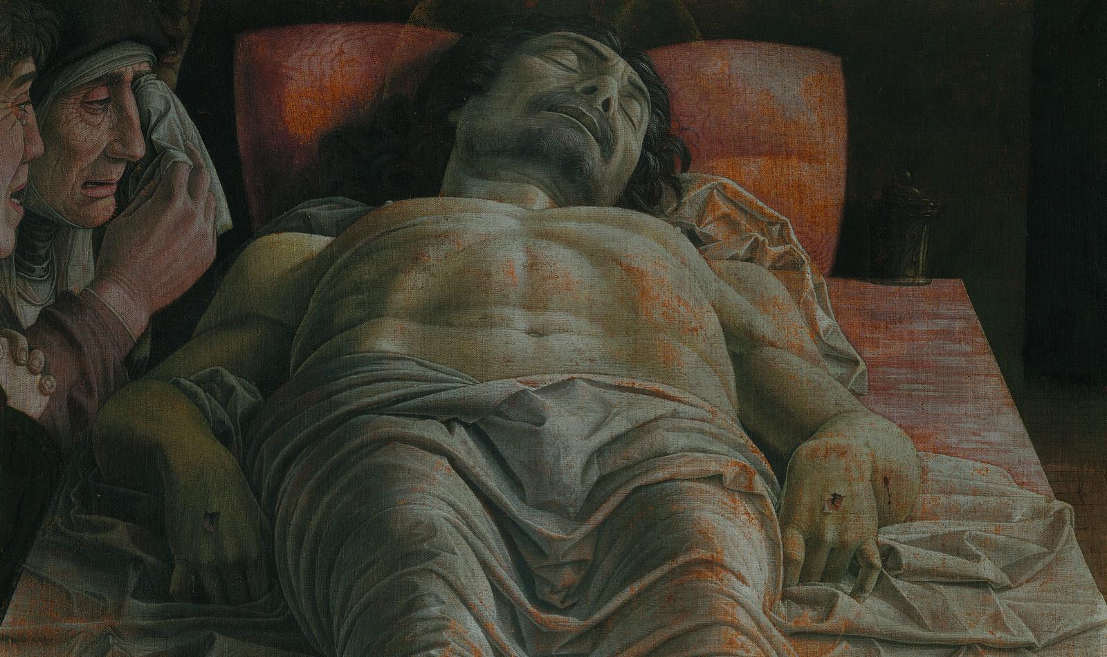 Compianto sul corpo di Cristo morto Mantegna