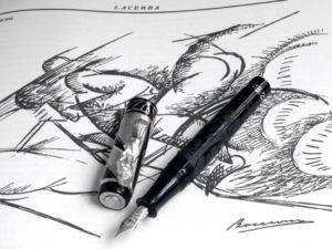 Stilografica 1916 - Umberto Boccioni