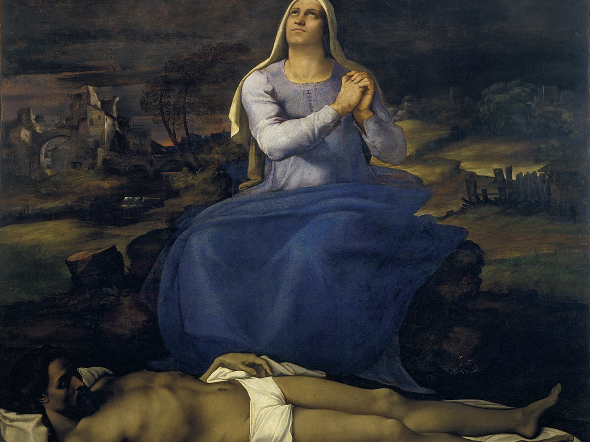 Lamentation over the Dead Christ ('Pietà')