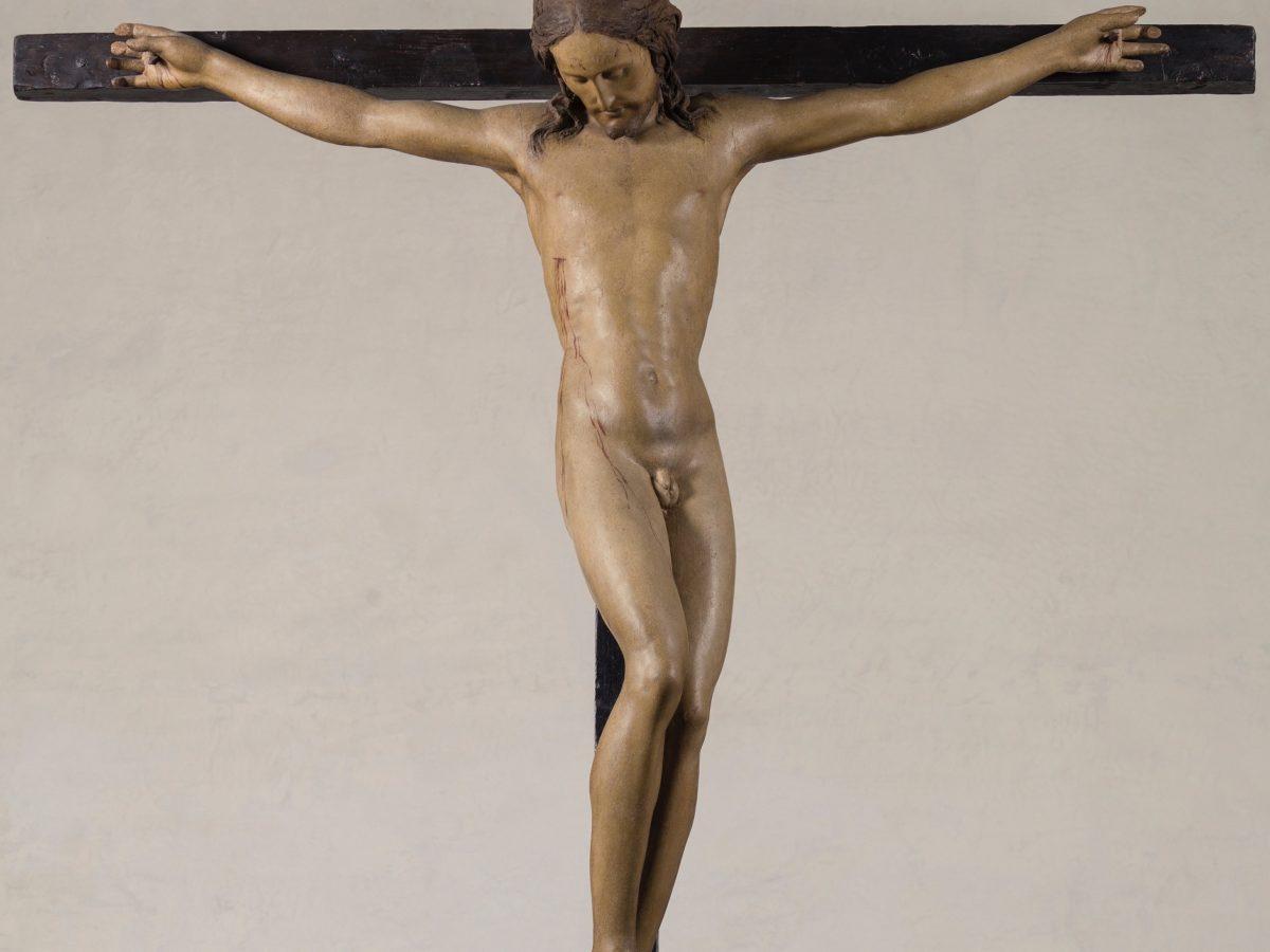 Crocefisso di Michelangelo in Santo Spirito foto di Albino Todeschini