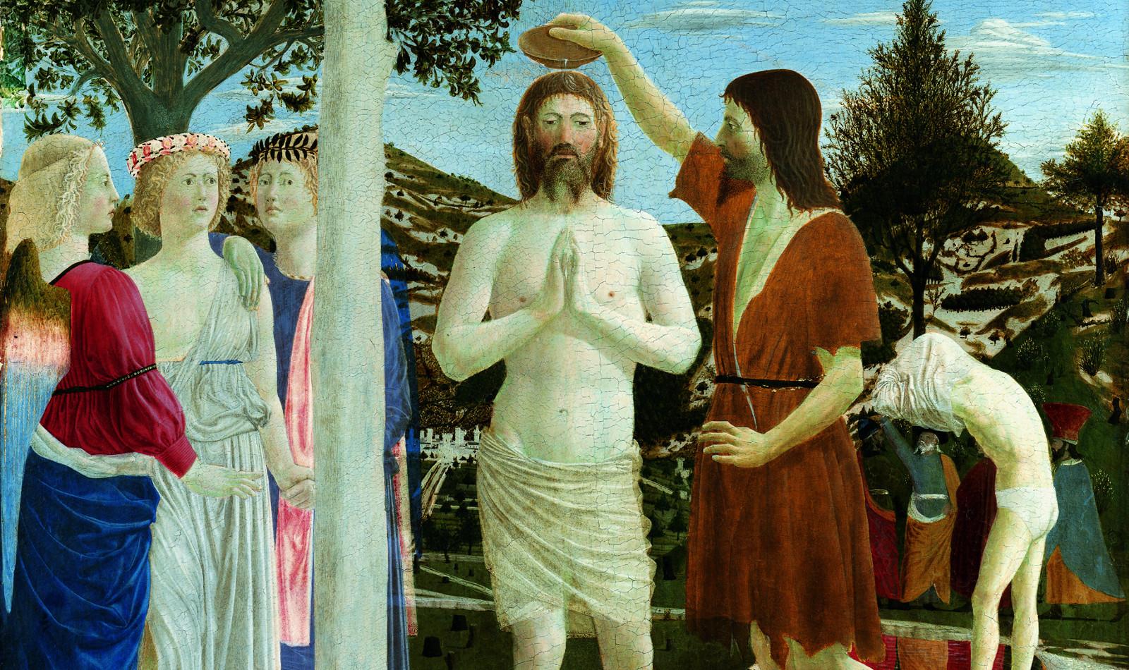 Battesimo di Cristo Piero della Francesca