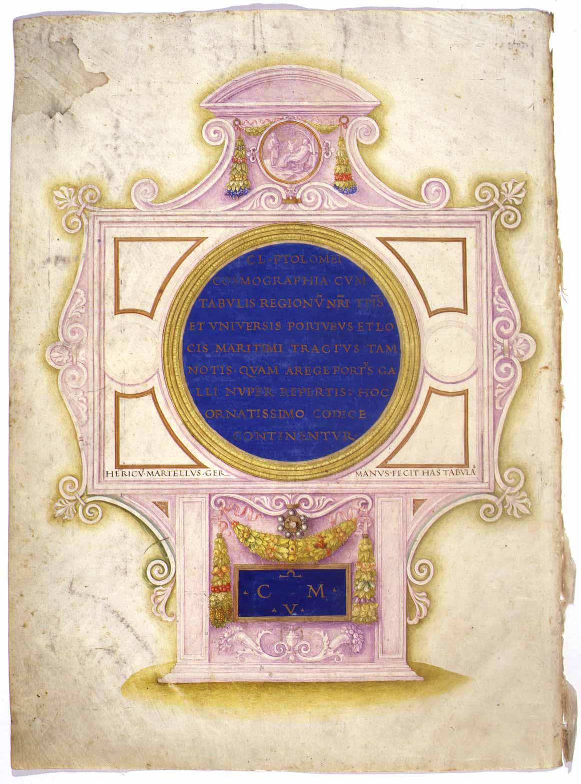 Ptolomei Cosmographia