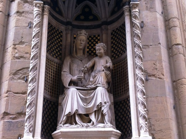 """Orsanmichele, Firenze, """"Madonna della Rosa"""""""