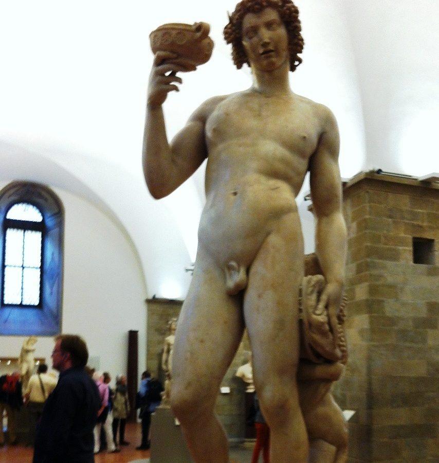 """""""Bacco"""" Michelangelo - Museo Nazionale del Bargello - Firenze"""