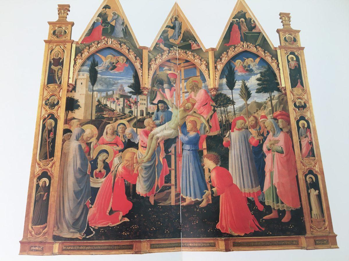 Oro di Dio - Beato Angelico - Deposizione dalla Croce