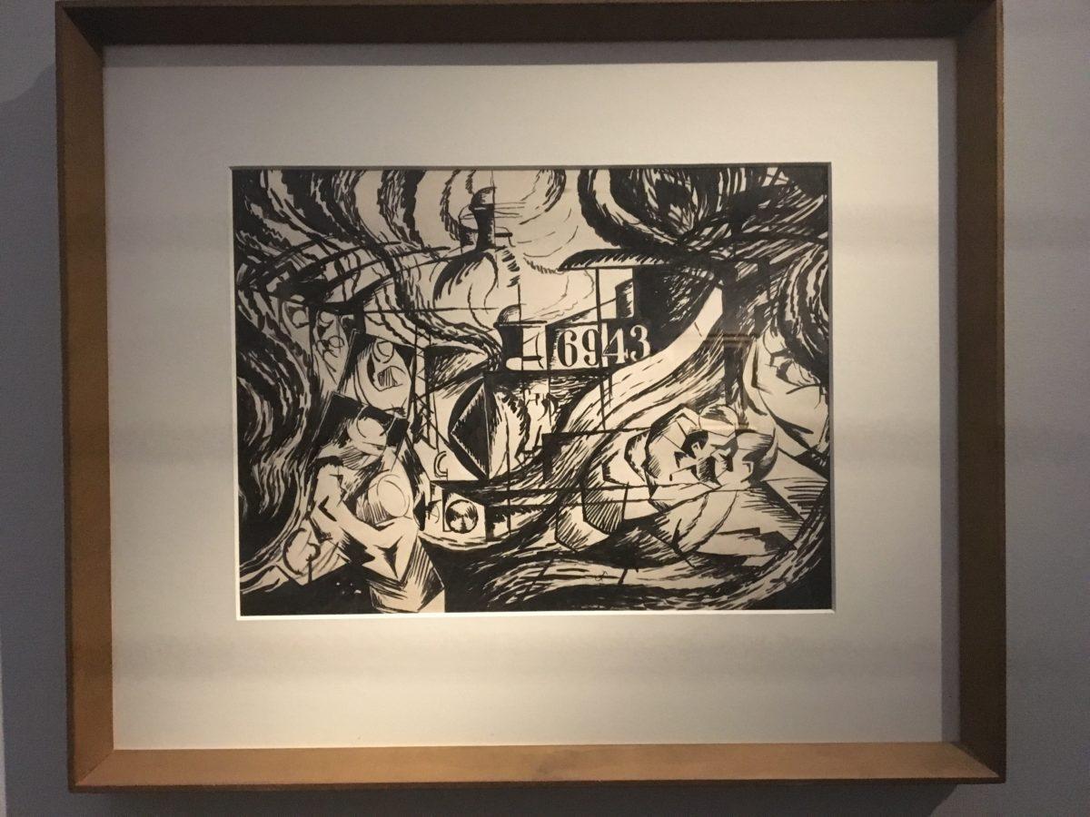 Umberto Boccioni - Gli addii, Studio per gli Stati d'animo 1911-1912, Londra Estorick Collection