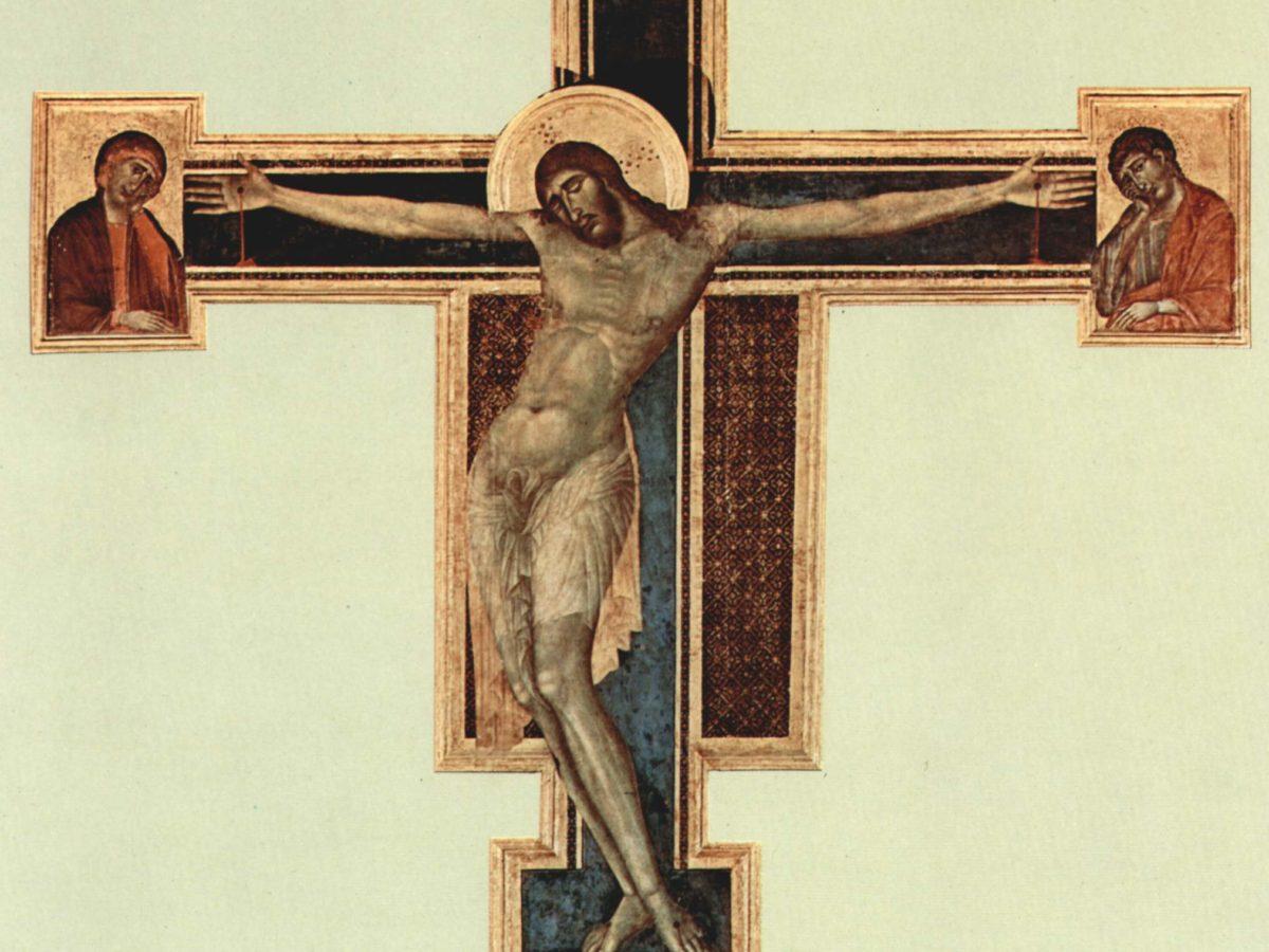 """""""Crocifisso"""" 1280 circa Cimabue Museo dell'Opera di Santa Croce"""