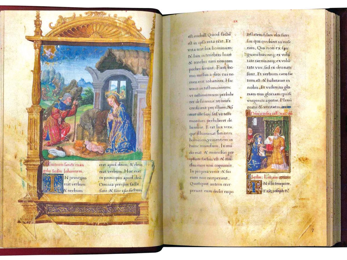Una immagine dell'edizione in facsimile del Ms.2020 Codice Valois