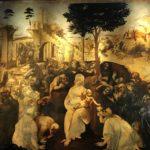 Adorazione dei Magi di Leonardo in mostra agli Uffizi