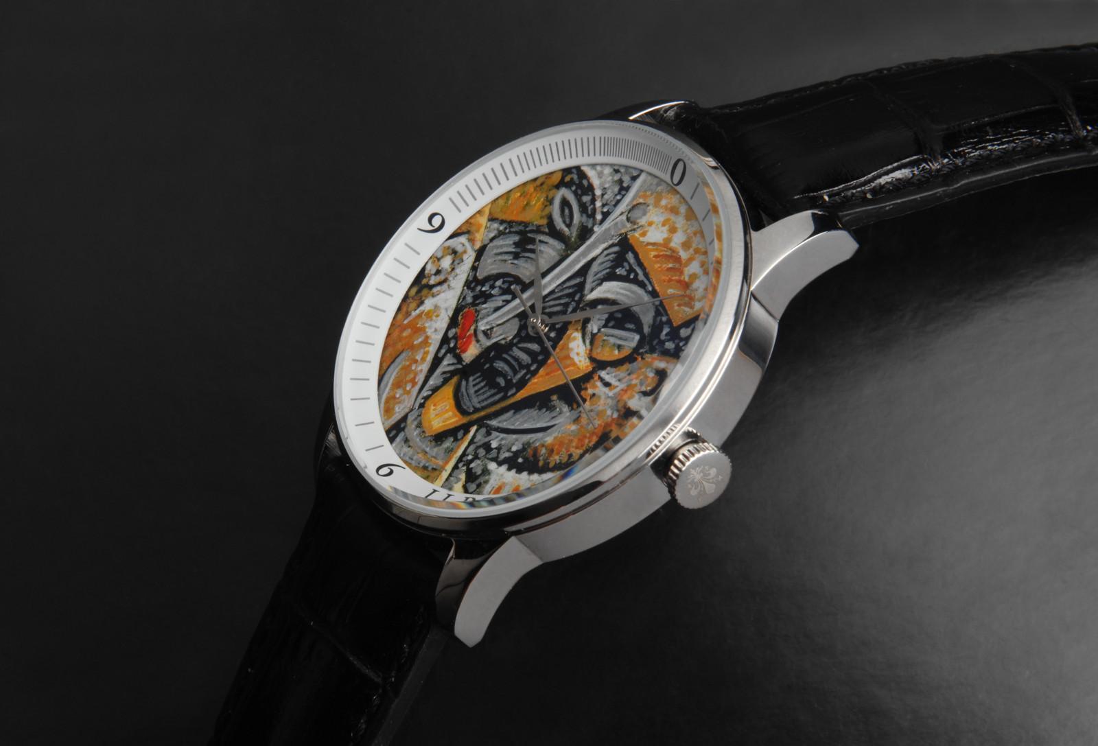 Orologio Novecento (Umberto Boccioni) laterale