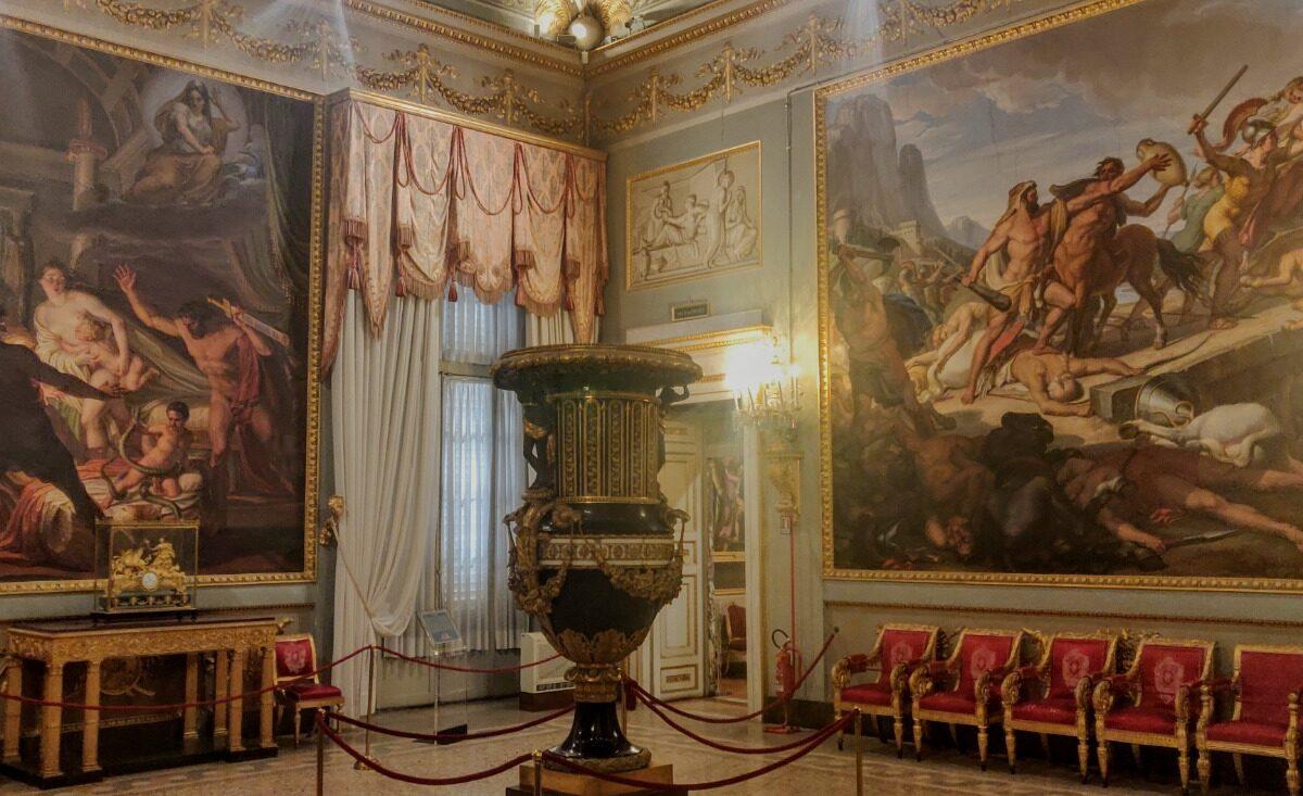 Palazzo Pitti, Quartiere del Volterrano